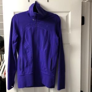 Lululemon jacket with high collar